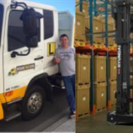 Combo: HRB Truck Licence + Forklift Licence