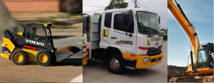 Combo: HRB Licence AND Excavator AND Bobcat at Brisbane Truck School