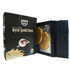Retail Products: Happy Eye Anti-Wrinkle Eye Patches at First Things First Wellness Centre