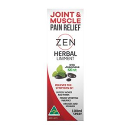 Zen Herbal Liniment Dropper 50ml