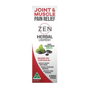 Zen Therapeutics Herbal Liniment 100ml Spray at First Things First Wellness Centre