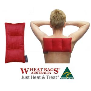 Retail Products: Wheat Bags Australia Large Rectangular Unsectioned at First Things First Wellness Centre