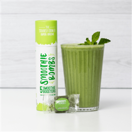 The Transformer Super Greens 5 Smoothie Bomb Tube