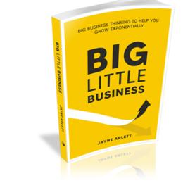 Big Little Business by Jayne Arlett