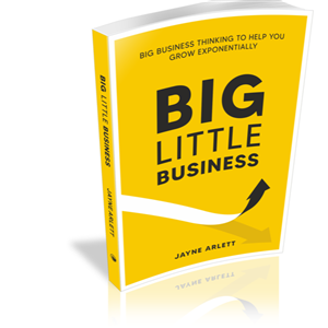 Big Little Business by Jayne Arlett at First Things First Wellness Centre