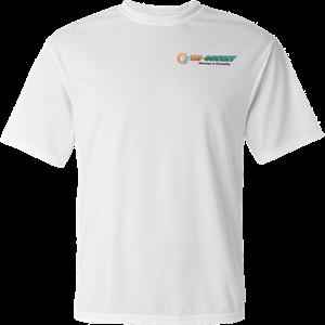 Dry Wick Shirt - White - XXL at Tri-Covery Massage & Flexibility