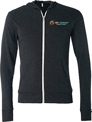 Apparel: Zip Hoodie - XL at Tri-Covery Massage & Flexibility