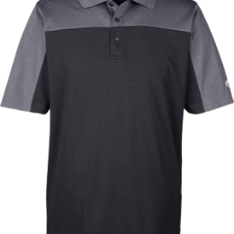 Polo - Men - Black/Carbon - L