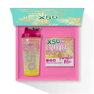 X50 Green Tea Paradise Mix Gift Pack at First Things First Wellness Centre