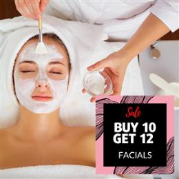 Buy 10 Get 12- Facial 30 Minutes