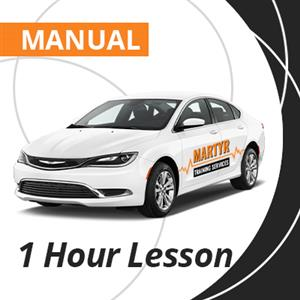 Manual Driving Lesson at Martyr Training Services