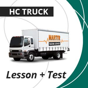 Warm Up + Truck Hire for QT Test Package - HC Crash at Martyr Training Services