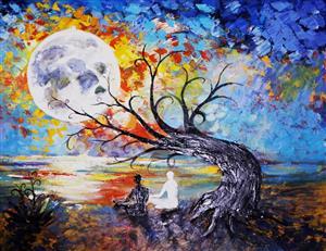 Peace-Full-Moon Meditation at Institute of Loving