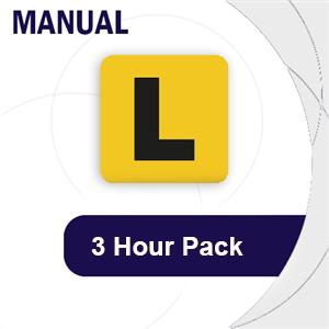 Manual 3 Hour Pack at LicencePlus