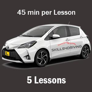 5 x 45min Lessons at Skills4Driving