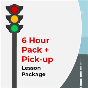 6 Hour Lesson package + Pick-up at KG International Driving School