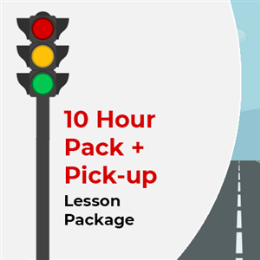 10 Hour Lesson Package + Pick-up