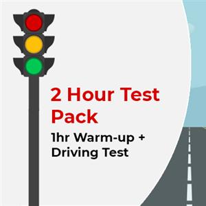 2hr Warmup + Driving Test at KG International Driving School