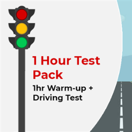 1hr Warmup + Driving Test