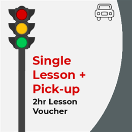 Single Driving Lesson + Pick-up