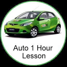 Automatic 1 Hour Lesson