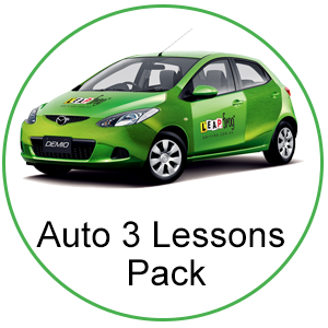 Automatic 3 Lessons Pack at Leapfrog Driving Pty Ltd