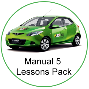 Manual 5 Lessons Pack at Leapfrog Driving School