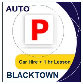 Auto Car Hire & Lesson - Blacktown at LicencePlus