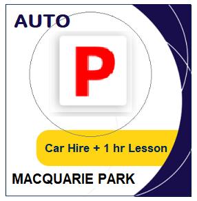 Auto Car Hire & Lesson - Macquarie Park at LicencePlus