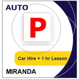 Auto Car Hire & Lesson - Miranda