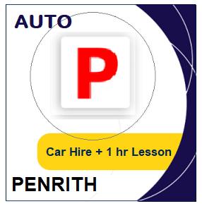 Auto Car Hire & Lesson - Penrith at LicencePlus
