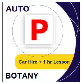 Auto Car Hire & Lesson - Botany at LicencePlus