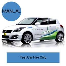 Manual Car Hire for Test Only