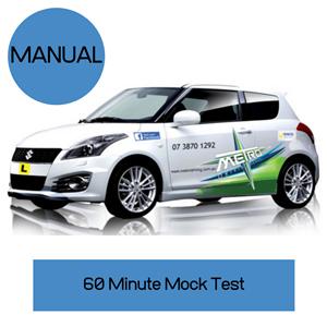 Manual Mock Test at Metro Driving School