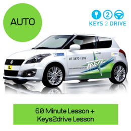 Keys2Drive Auto Package: Please note not available on the Gold Coast
