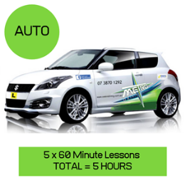 5 Auto Lessons Package