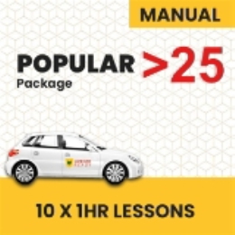 OVER 25 age group Manual Popular Pack