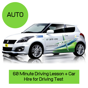 """<p>Book your own test or call our office on 1300 42 12 42 for help with your test at Qld transport.</p> <p>Please allow 2.5 hours for this package.</p> <p>Your voucher includes:</p> <ol class=""""voucher-list""""> <li class=""""voucher-list"""">Pick up from home</li> <li class=""""voucher-list"""">One hour pre test lesson</li> <li class=""""voucher-list"""">Assistance with processing of paperwork at Queensland transport</li> <li class=""""voucher-list"""">Use of Metro Driving School vehicle for test</li> <li class=""""voucher-list"""">Attendance to post test debrief</li> <li class=""""voucher-list"""">Assistance with licence issue</li> <li class=""""voucher-list"""">Return home/work or nearby location</li> </ol> <meta charset=""""utf-8"""" /> <p><strong><em>Please </em></strong><em><b>Note: Early booking is recommendedto secure your preferred Driving Test date and time. Package does not include transport department booking fee ($66.50 payable at time of booking if we make the Test Booking on your behalf)</b></em></p> <meta charset=""""utf-8"""" />"""