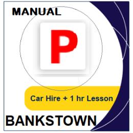 Manual Car Hire & Lesson - Bankstown
