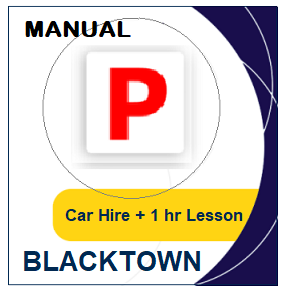 Manual Car Hire & Lesson - Blacktown at LicencePlus