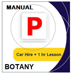 Manual Car Hire & Lesson - Botany at LicencePlus