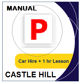 Manual Car Hire & Lesson - Castle Hill at LicencePlus