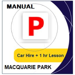 Manual Car Hire & Lesson - Macquarie Park