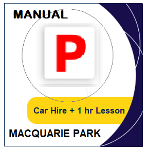 Manual - Driving Test day Packages: Manual Car Hire & Lesson - Macquarie Park at LicencePlus