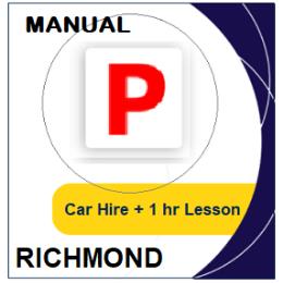 Manual Car Hire & Lesson - Richmond