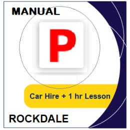 Manual Car Hire & Lesson - Rockdale