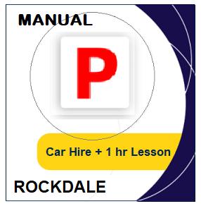 Manual Car Hire & Lesson - Rockdale at LicencePlus