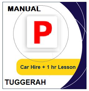 Manual Car Hire & Lesson - Tuggerah at LicencePlus