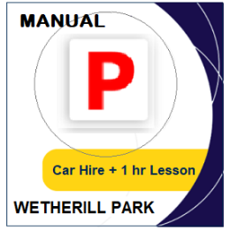 Manual Car Hire & Lesson - Wetherill Park
