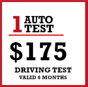 1 x Auto & Manual Licence Driving Test at HIENZ Driving School